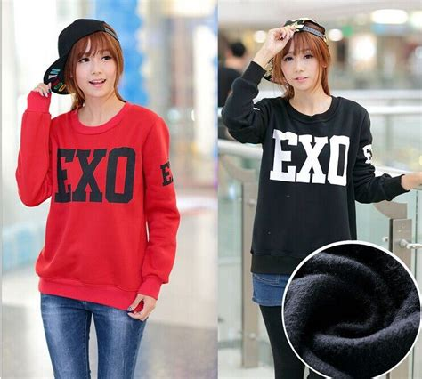 Sweater Exo By Retrouve Merch kpop velvet shirt search exo