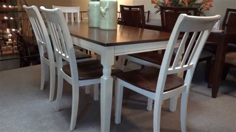 Ashley Whitesburg Rectangular Dining Table Set Review
