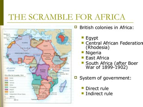 pattern of colonial rule in east and central africa history of the british empire