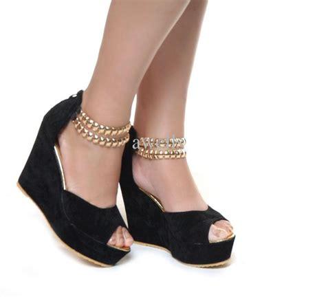 wedge high heels high heels shoes wedges fashionate trends