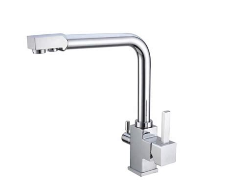 Kitchen Faucet Water Filter Three 3 Way Faucet Kitchen Mixer Tap Water Filter Ebay