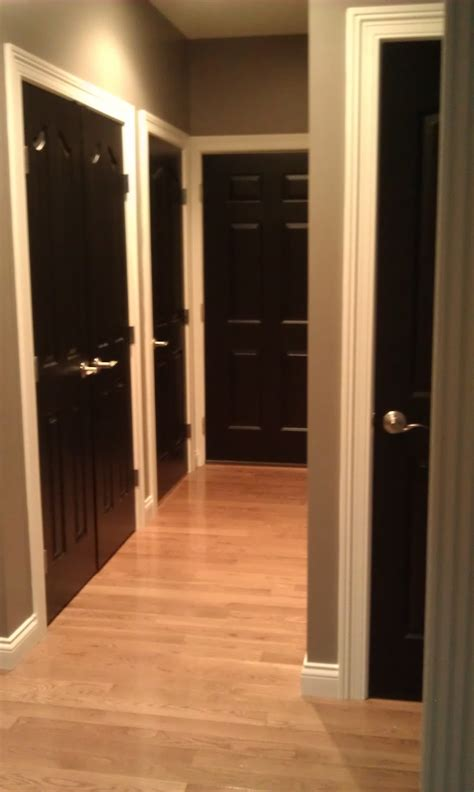 Best Black Paint Color For Interior Doors Alas 3 Lads Interior Doors Painted Black