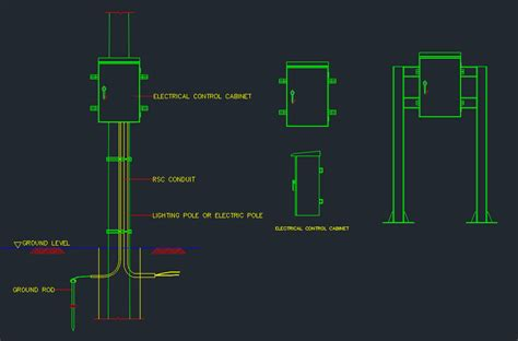 box auto dwg electrical box free cad blocks and cad drawing