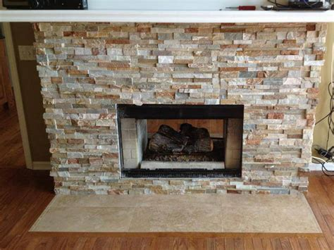 Installing fireplace tile surround can be messy, do it