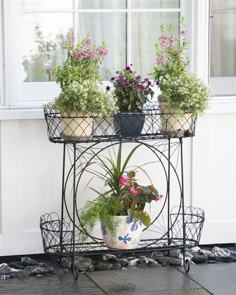 Wirework Plant Stand Bohemian Decor Pinterest Plants Garden Flower Stands