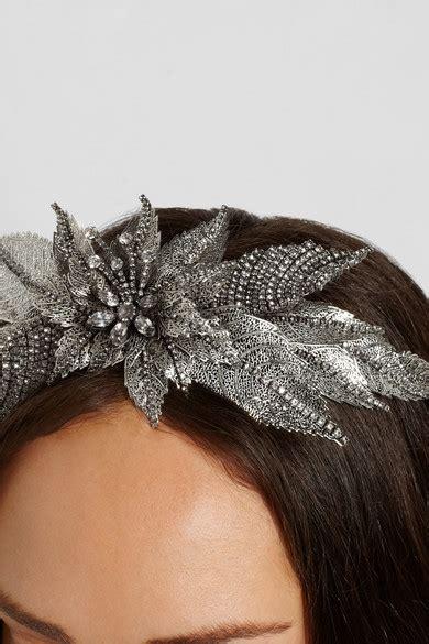 Would You Wear This Erickson Beamon Headband by Erickson Beamon Ballroom Silver Plated Swarovski