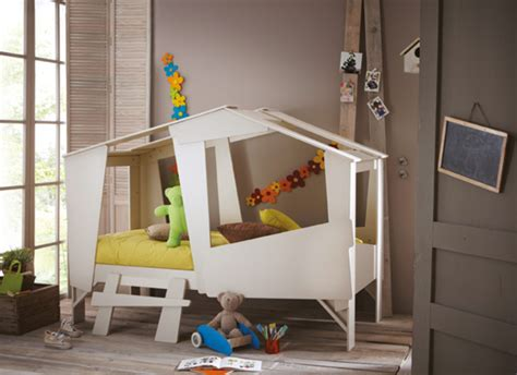 cabane enfant chambre lit cabane