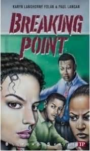 breaking point novels books breaking point bluford 16 by karyn langhorne folan
