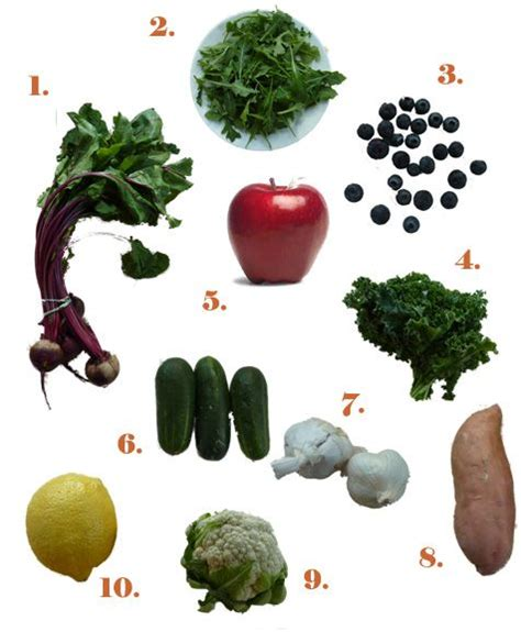 Vegetable And Fruit Detox Weight Loss by 10 Detox Fruits And Vegetables Detox