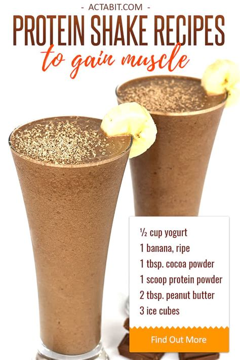 protein to gain healthy protein shake recipes to gain