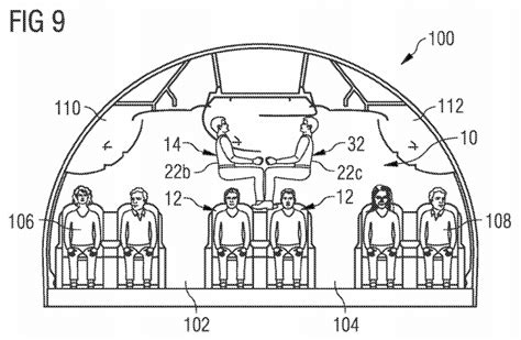 airplane seat lock airbus filed the most evil airplane seat patent yet