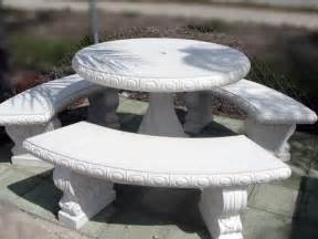 Concrete Patio Table And Benches White Outdoor Benches Concrete Table And Benches Concrete Picnic Tables Interior