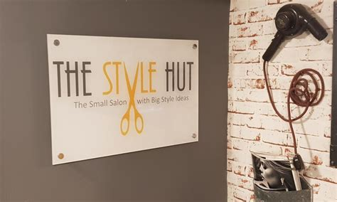 groupon haircut lichfield cut treatment and blow dry the style hut groupon
