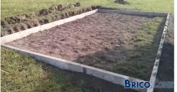 paillasse dans b 233 ton pour chape d abris de jardin