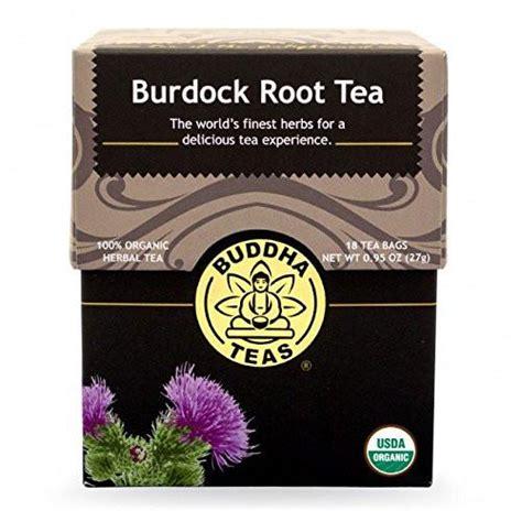 Burdock Root Detox Tea by Burdock Root Tea Organic Herbs 18 Free Tea Bags