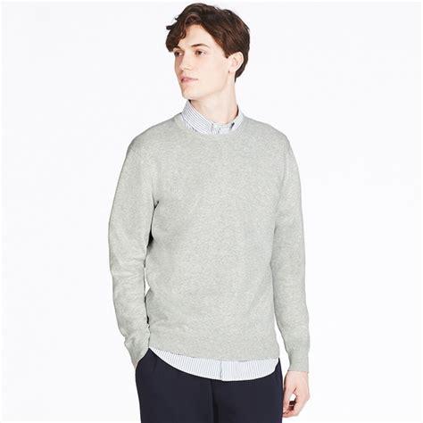 Sweater Lengan Panjang 10 uniqlo sweater washable crew neck lengan panjang