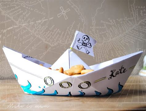 How To Make A Paper Pirate Ship - piratecrafts weekend challenge crafty amino