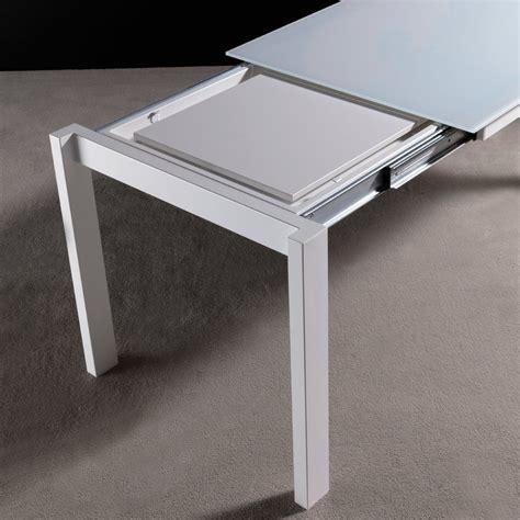 tavolo legno metallo tavolo allungabile kallum in metallo legno e vetro 140 x 85 cm
