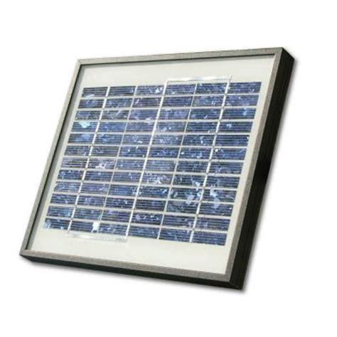 5 watt solar panel kit for electric gate openers