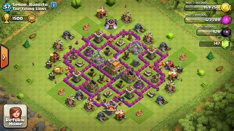 strong defense base th6 coc th5 base