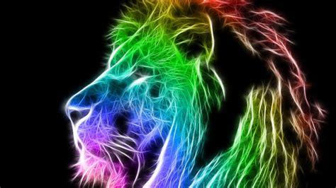 wallpaper colorful lion colorful lion wallpaper wallpapersafari