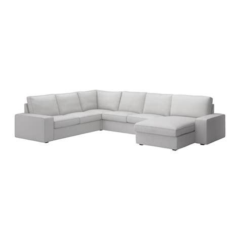 kivik chaise kivik corner sofa 2 2 with chaise longue orrsta light