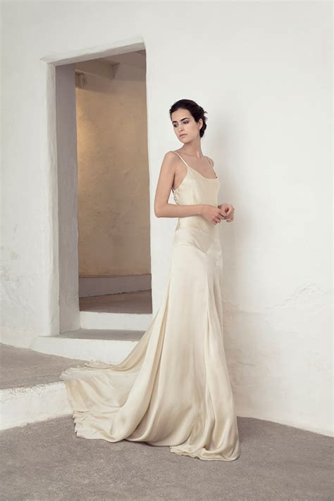 Silk Wedding Dresses Uk by Silky Simplicity The Cortana Bridal Collection