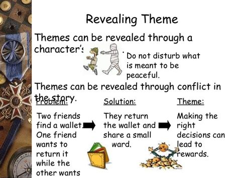 Themes To Base A Story On   theme main idea and drawing conclusion 1