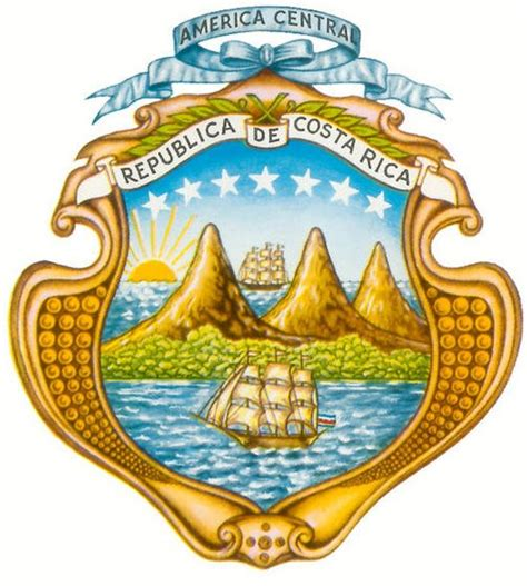 imagenes simbolos y emblemas nacionales de costa rica file escudo de costa rica jpg wikimedia commons