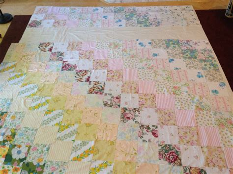 Vintage Patchwork Quilt - vintage patchwork quilt needle and foot