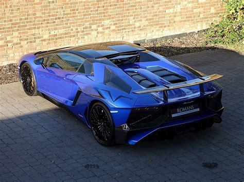 lamborghini aventador sv roadster facts 2016 used lamborghini aventador sv roadster blue nethuns