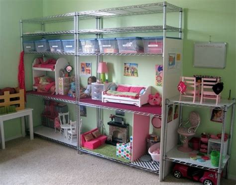 diy american girl doll house repurpose easy alter doll house or action figure hideout