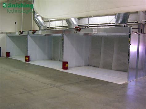 spray paint booth paint spray booths finishing technologies