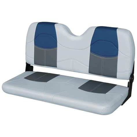 boat seat bench wise 174 blast off series bench seat 203467 fold down seats at sportsman s guide