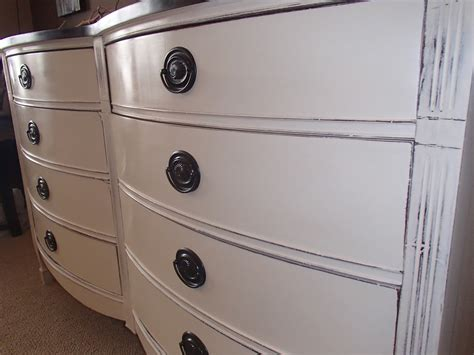 dixie bow front dresser new again vintage bow front in old white