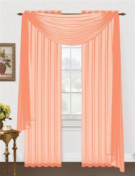 Monique Sheer Voile Window Scarf ? Editex Home Textiles