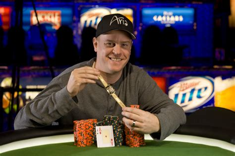 tournament results official world series  poker