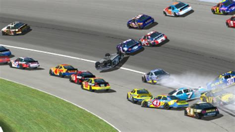 Nascar Racing 03 nascar 2003 crashes 1