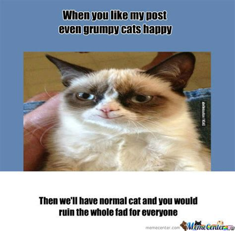 Grumpy Cat Meme Happy - rmx grumpy cats happy d by puggerugger meme center