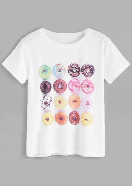 Longsleeve Sane O Donuts donuts o neck sleeve t shirt fairyseason