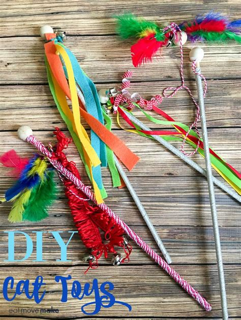 Diy Cat Toys From Marmalade by Diy Cat Toys For Your Fur Babies Keep Cats Active And
