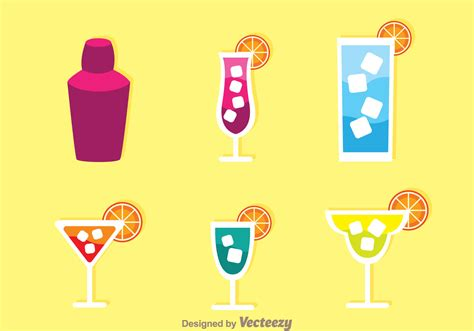 alcohol vector alcohol icons free vector art 25932 free downloads