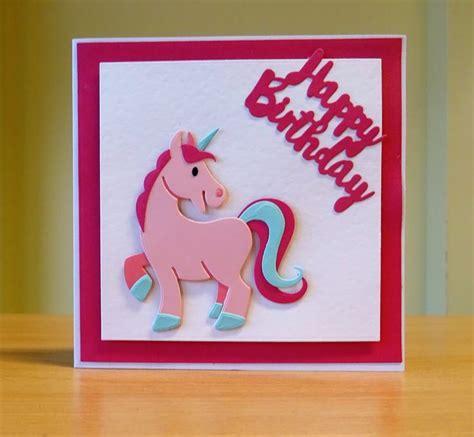 marianne design happy birthday birthday card marianne collectables unicorn die to
