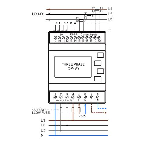 wiring electric meter diagram wiring automotive wiring