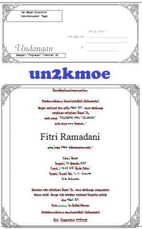 template undangan mitoni download undangan gratis desain undangan pernikahan