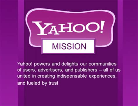 alibaba mission statement adscriptor yahoo no mission no vision