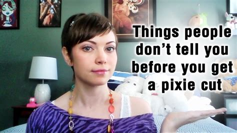 Where Can I Get A Pixie Cut In Fresno Ca | things they don t tell you when you get a pixie cut youtube