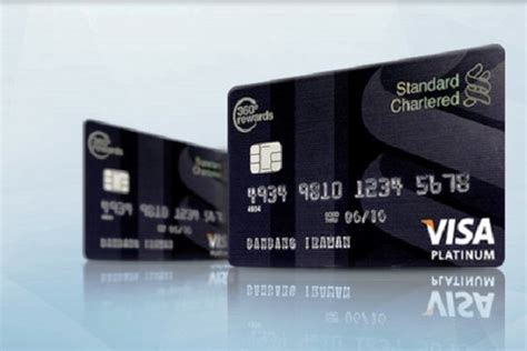 membuat credit card visa kartu kredit platinum standard chartered share the