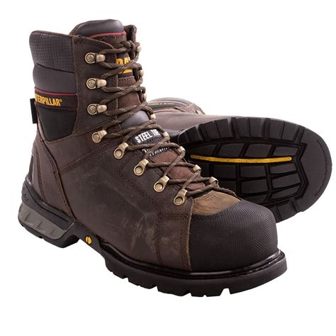 boots for work caterpillar excavator csa work boots steel toe