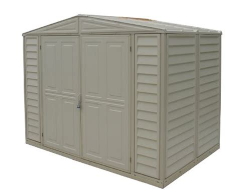 duramax model   duramate vinyl storage shed buy